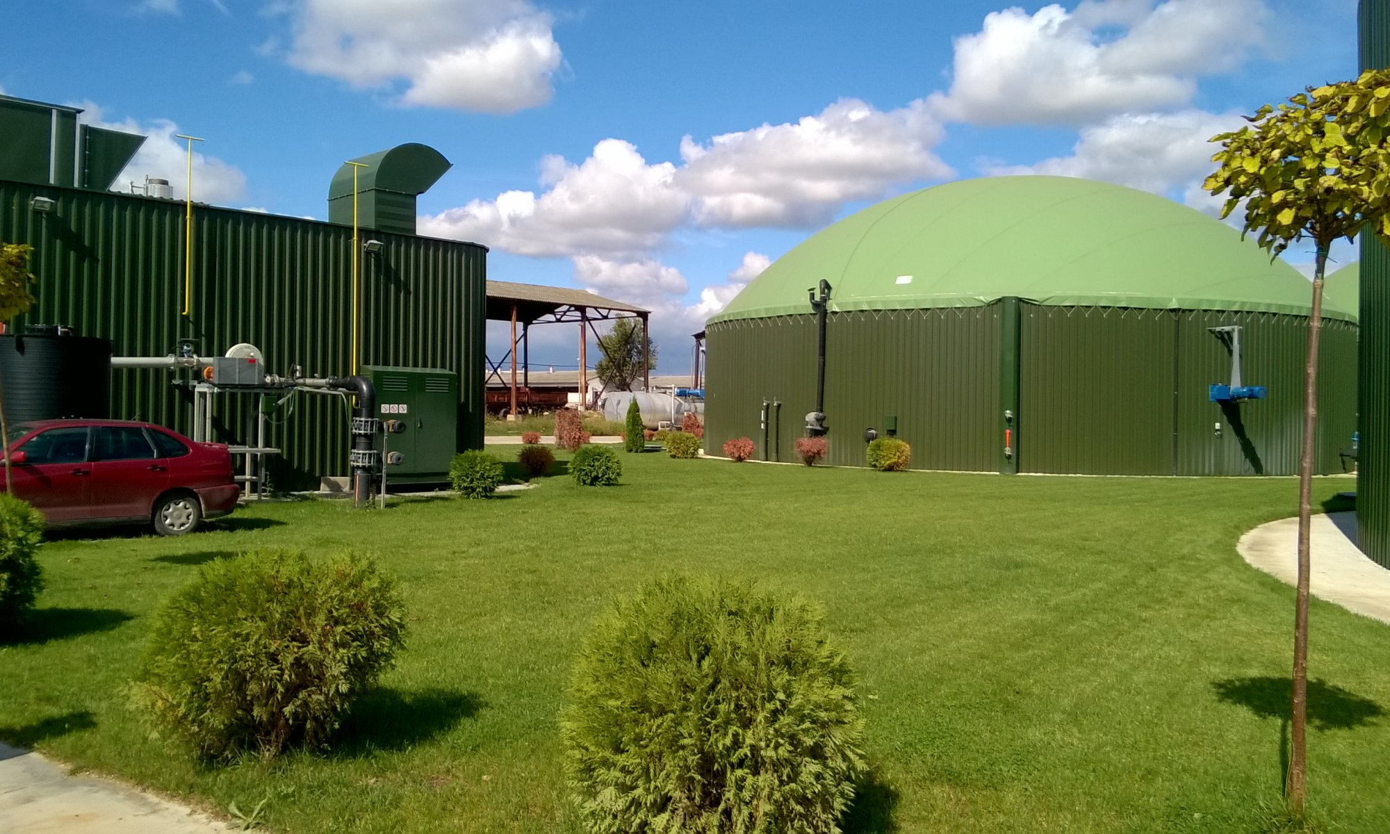 Feasibility study for 2 MWe biogas plant on corn silage