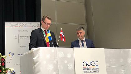 Signing ofcontracts between Ukraine and Norway